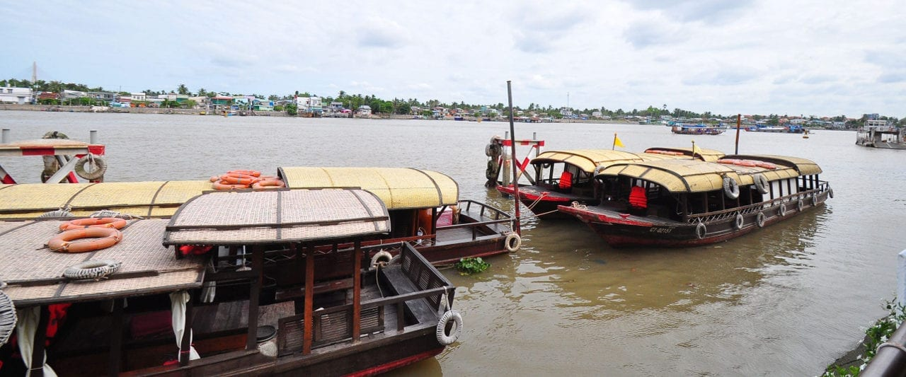 Can Tho Vietnam River Boats