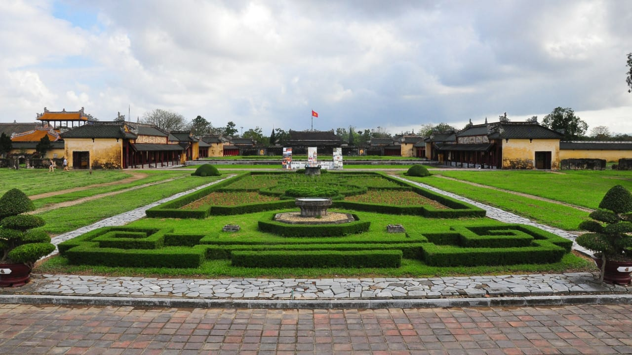Imperial City Hue Vietnam