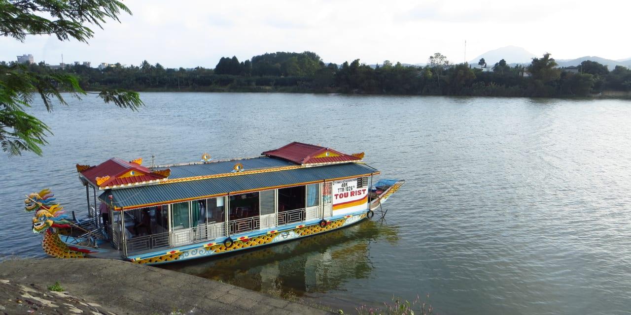 Hue Vietnam River Boat