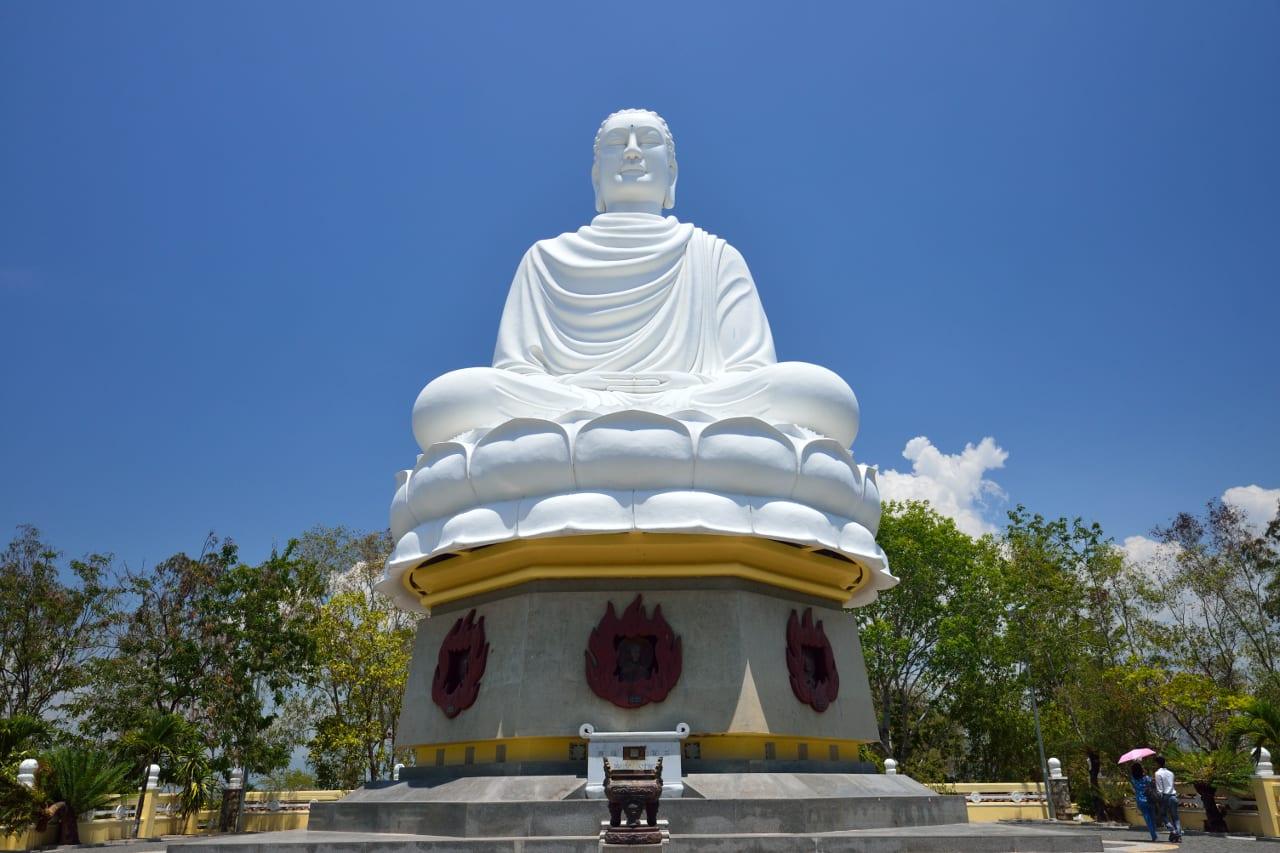 Great Buddha Long Son Pagoda Nha Trang Vietnam