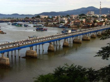 Nha Trang Vietnam Ocean Bridge