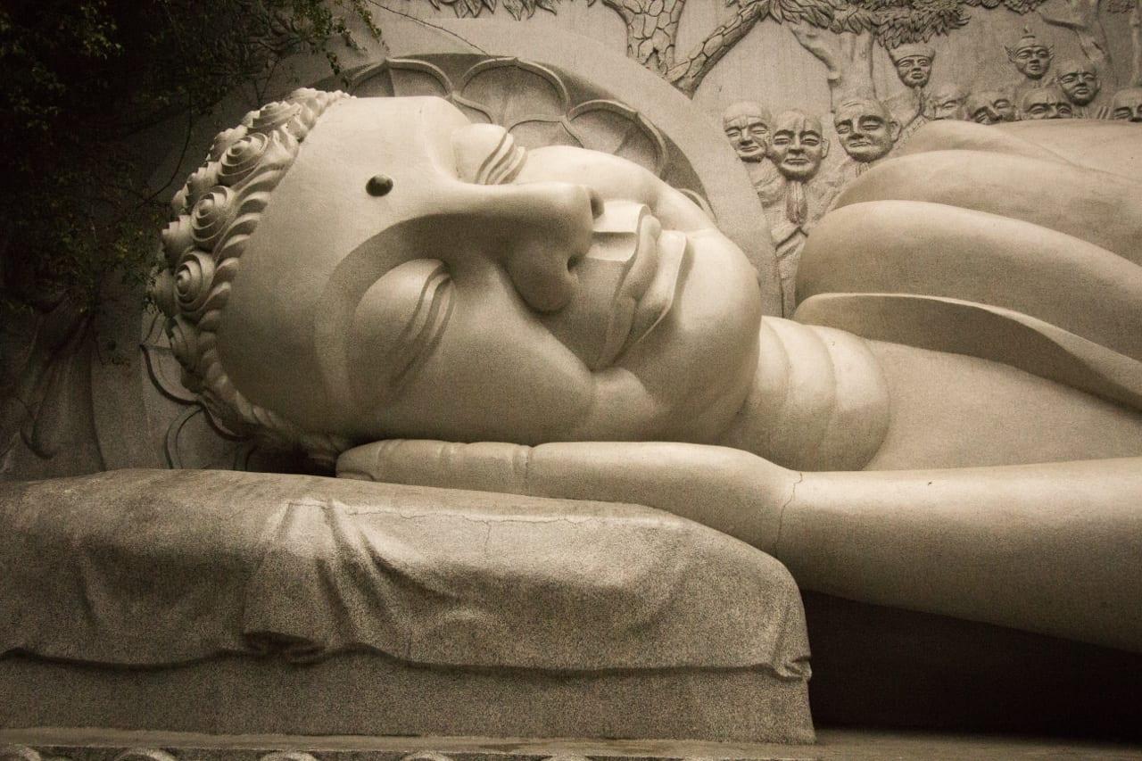 Reclining Buddha Nha Trang Vietnam