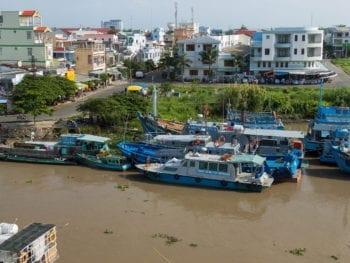Rach Gia Hotel Tien Aerial View Vietnam