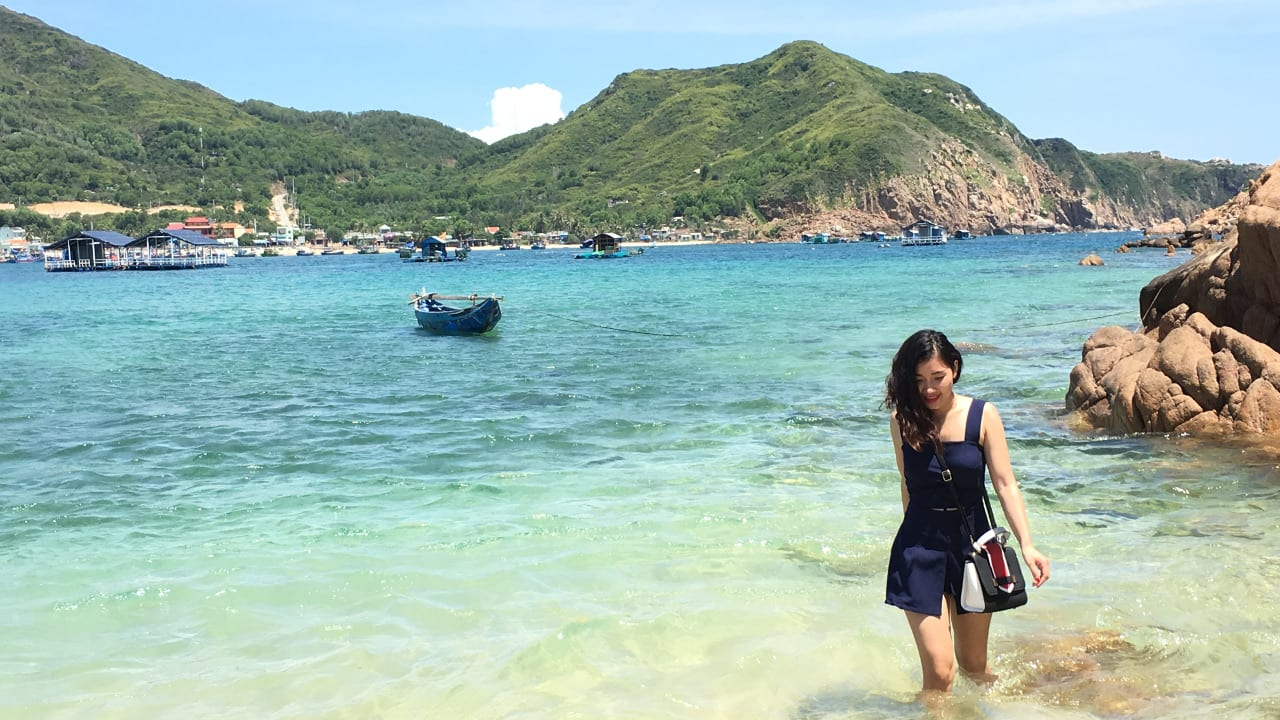 Qui Nhon Vietnam South China Sea Woman