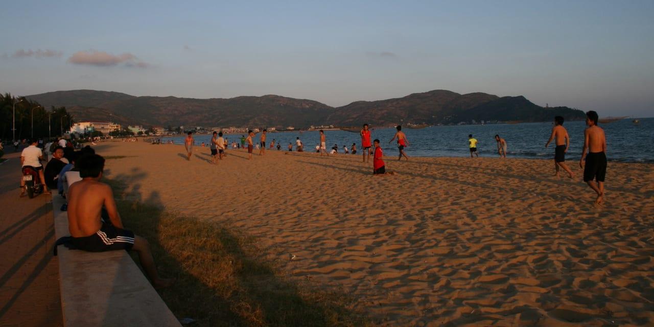 Qui Nhon Vietnam Beach