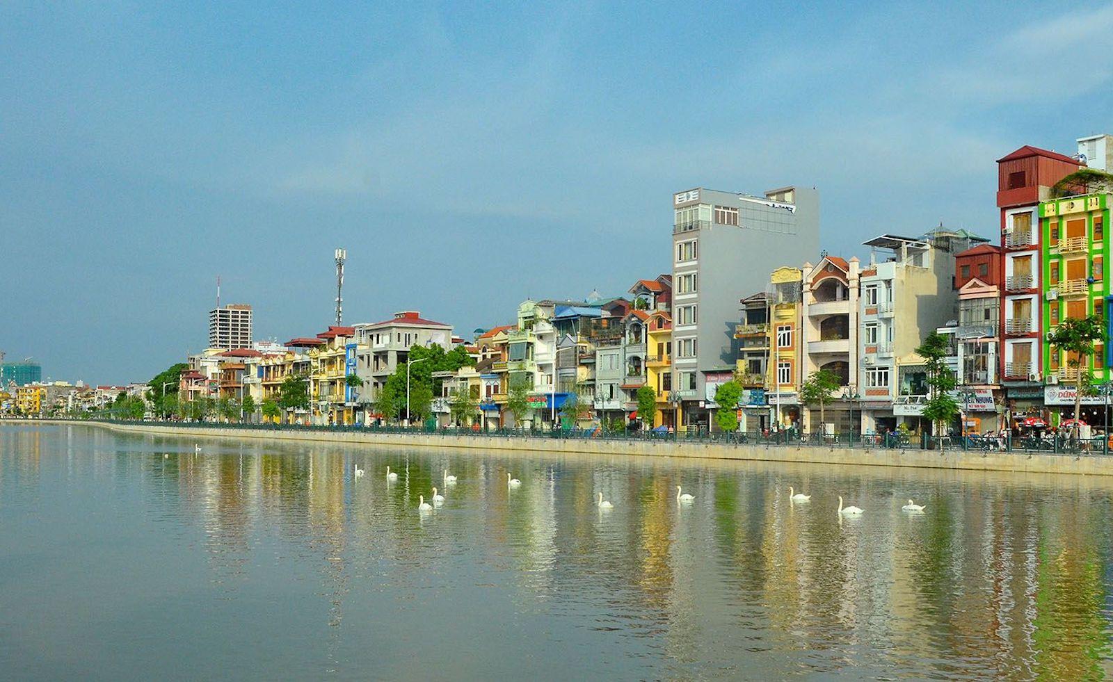 Tam Bac Lake in Hai Phong