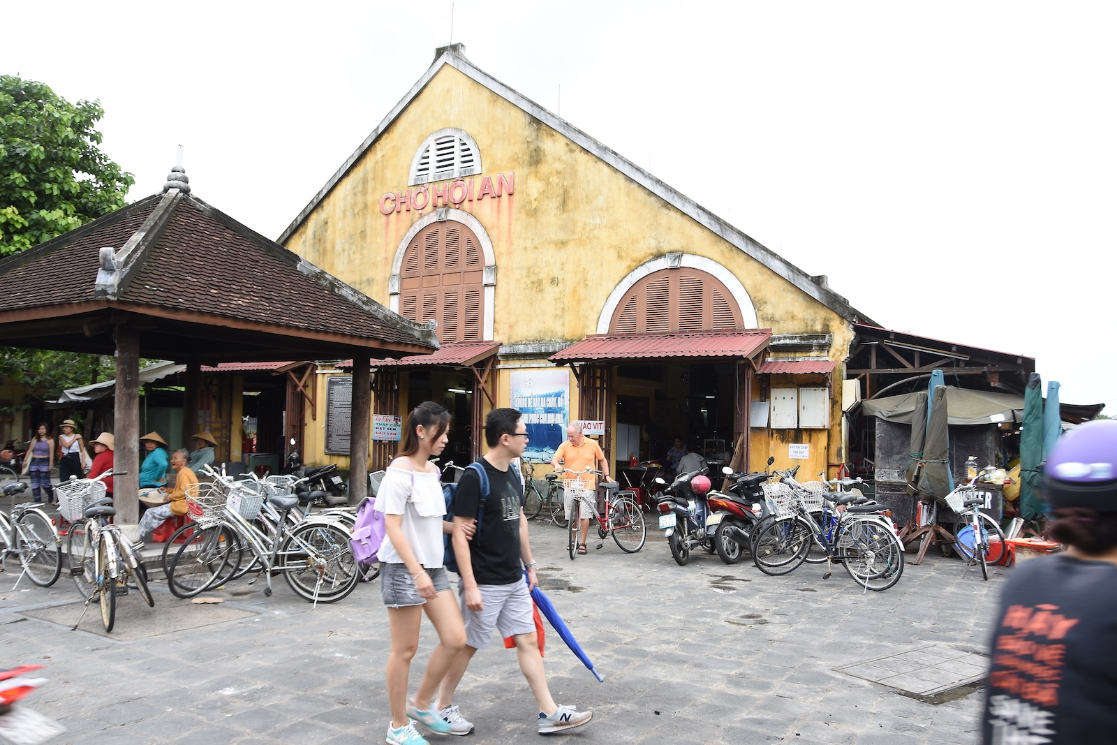 The Central Market in Hoi An