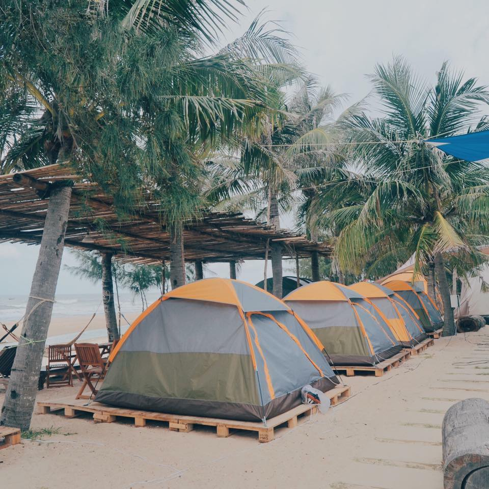 Camping in Coco Beachcamp, Binh Thuan