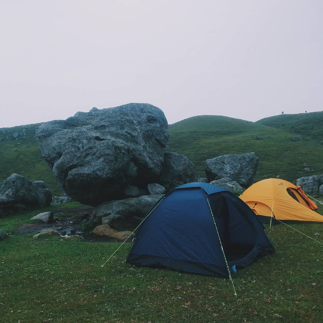 Camping in Dong Cao, Bac Giang