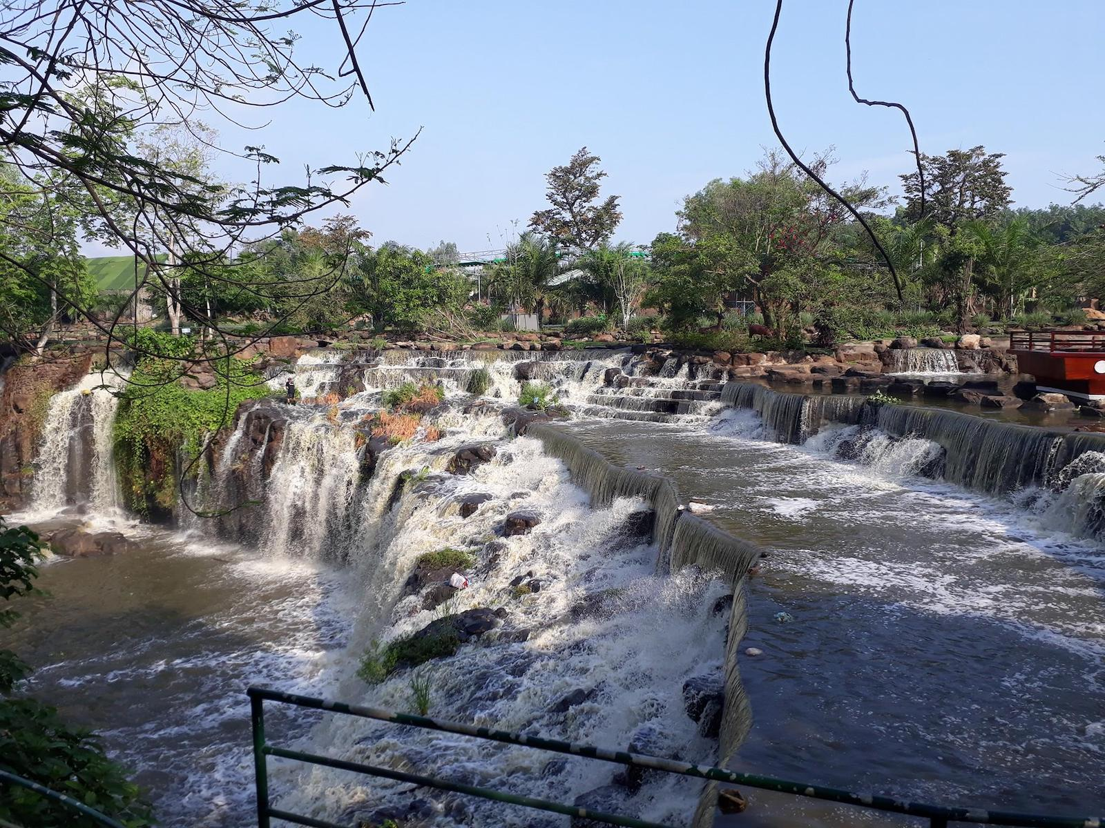 View of Da Han Waterfall, Dong Nai