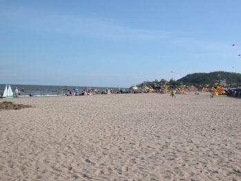 Sầm Sơn beach, Thanh Hóa province Vietnam