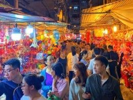 Mid-Autumn Festival Night Market