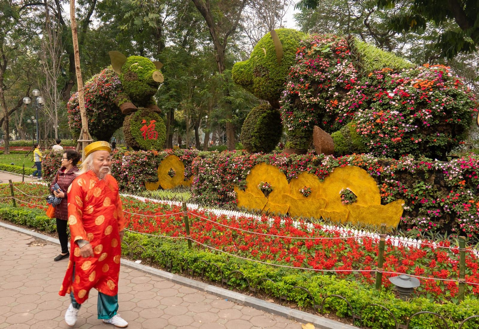 Hanoi in February