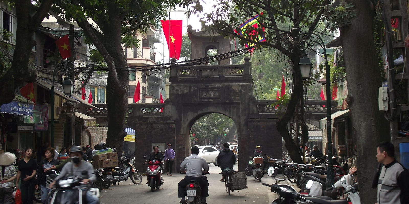 Hanoi in February