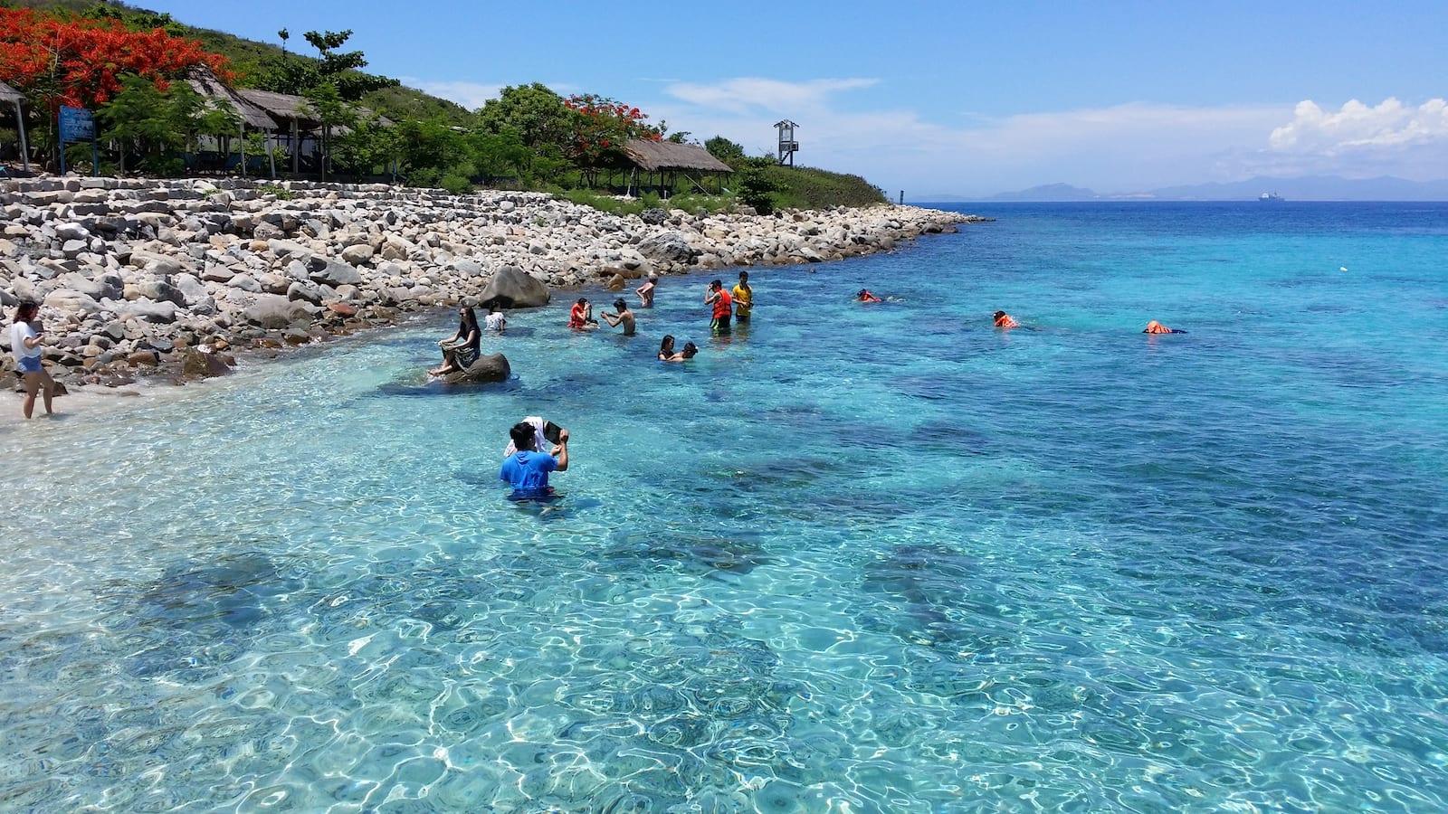 Hon Mun island, Cam Ranh