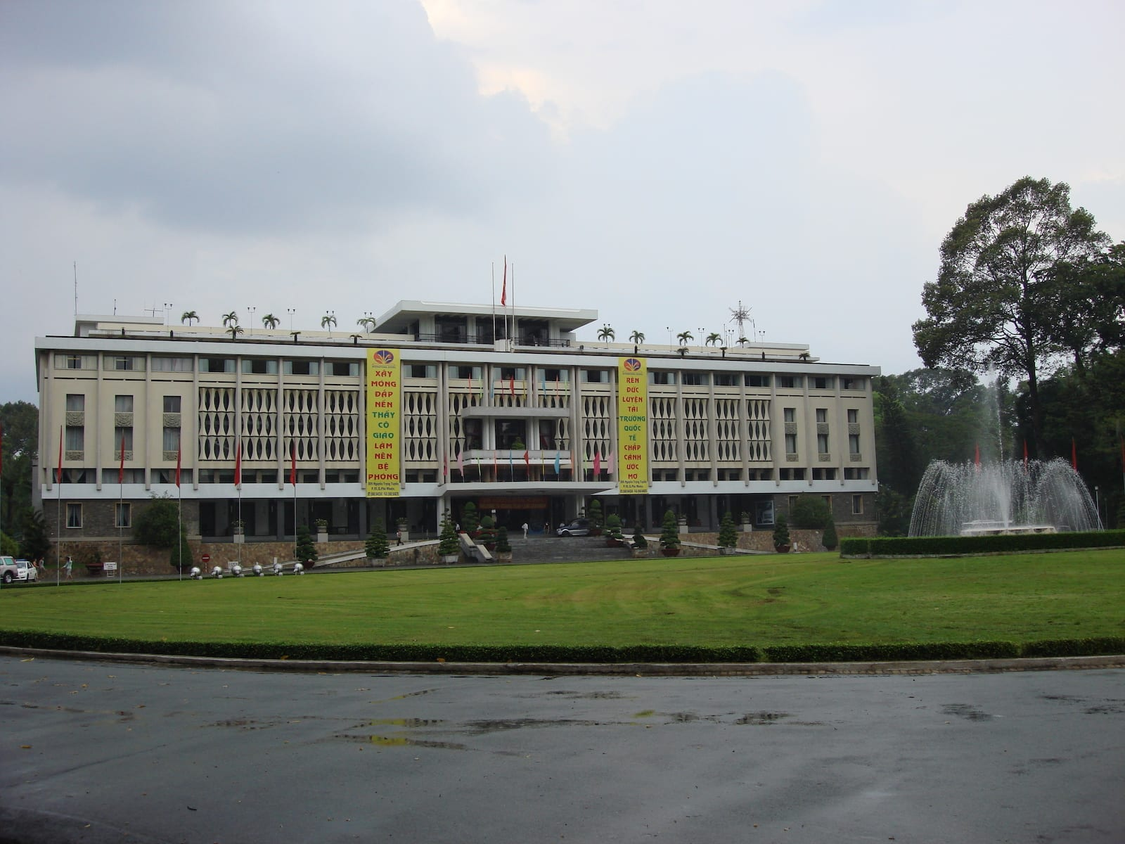 Reunification Palace in June, HCMC
