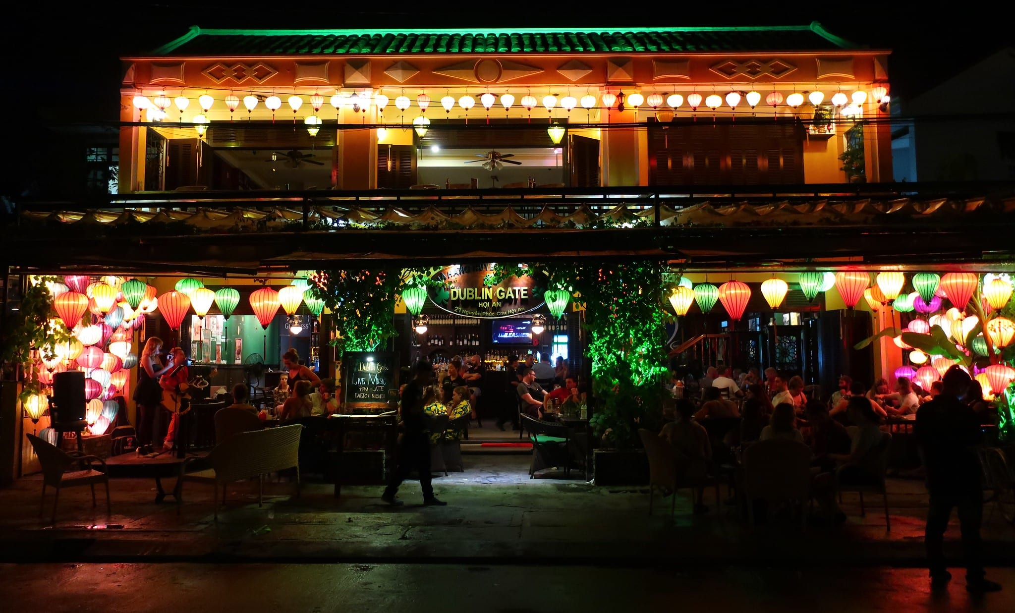 Image of the Dublin Gate in Hoi An, Vietnam