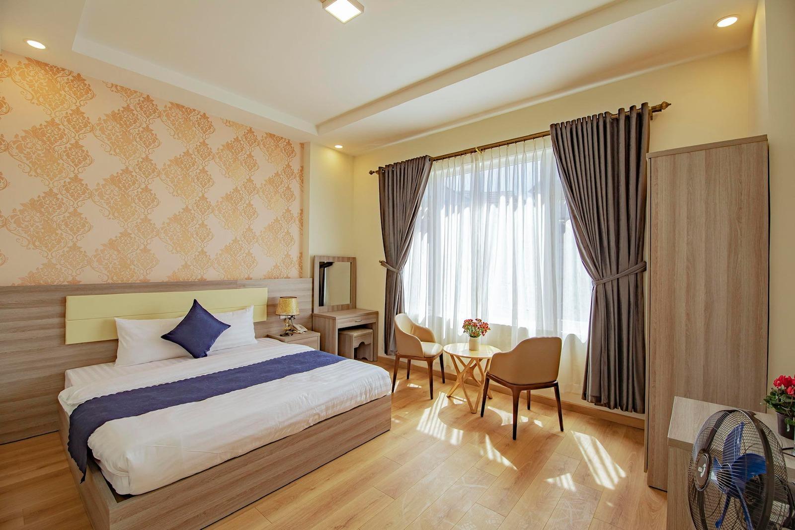 Image of a room at the Khan Uyen Hotel in Da Lat, Vietnam