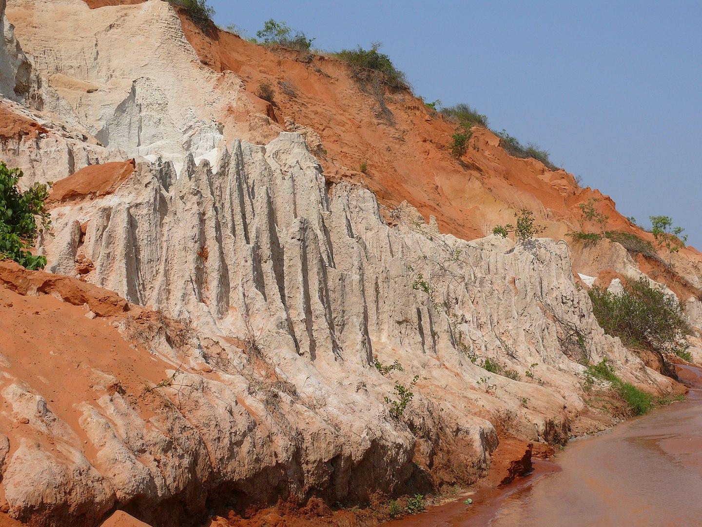 Image of the fairy stream in Mui Ne, Vietnam