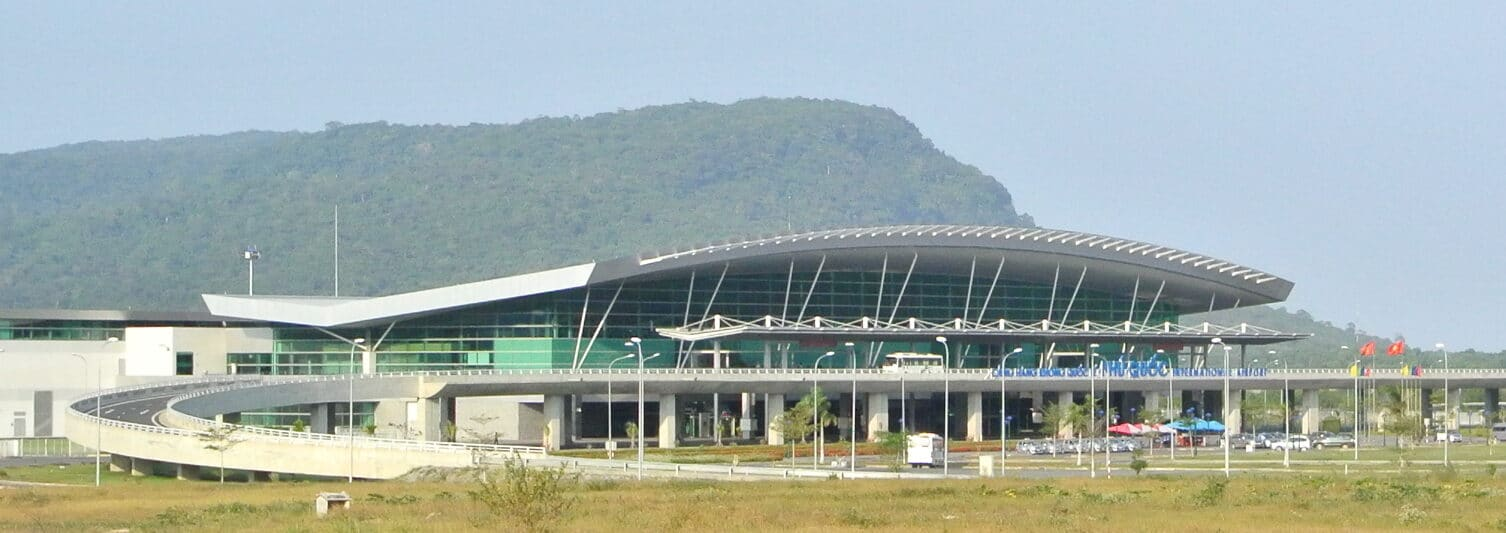 Image of the Phu Quoc International Airport in Vietnam