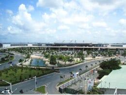 Image of the Tan Son Nhat International Airport in Vietnam