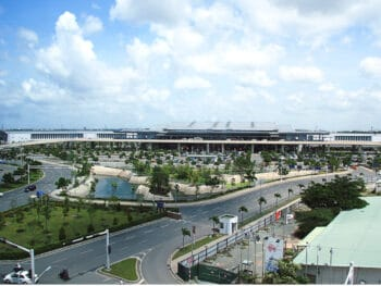 Image of the Tan Son Nhat International Airport in Vietnam
