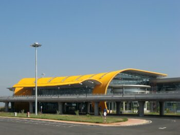 image of the Lien Khuong Airport in Vietnam