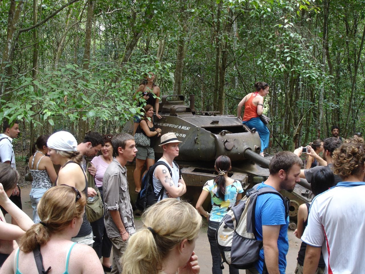 Cu Chi Tunnels in July