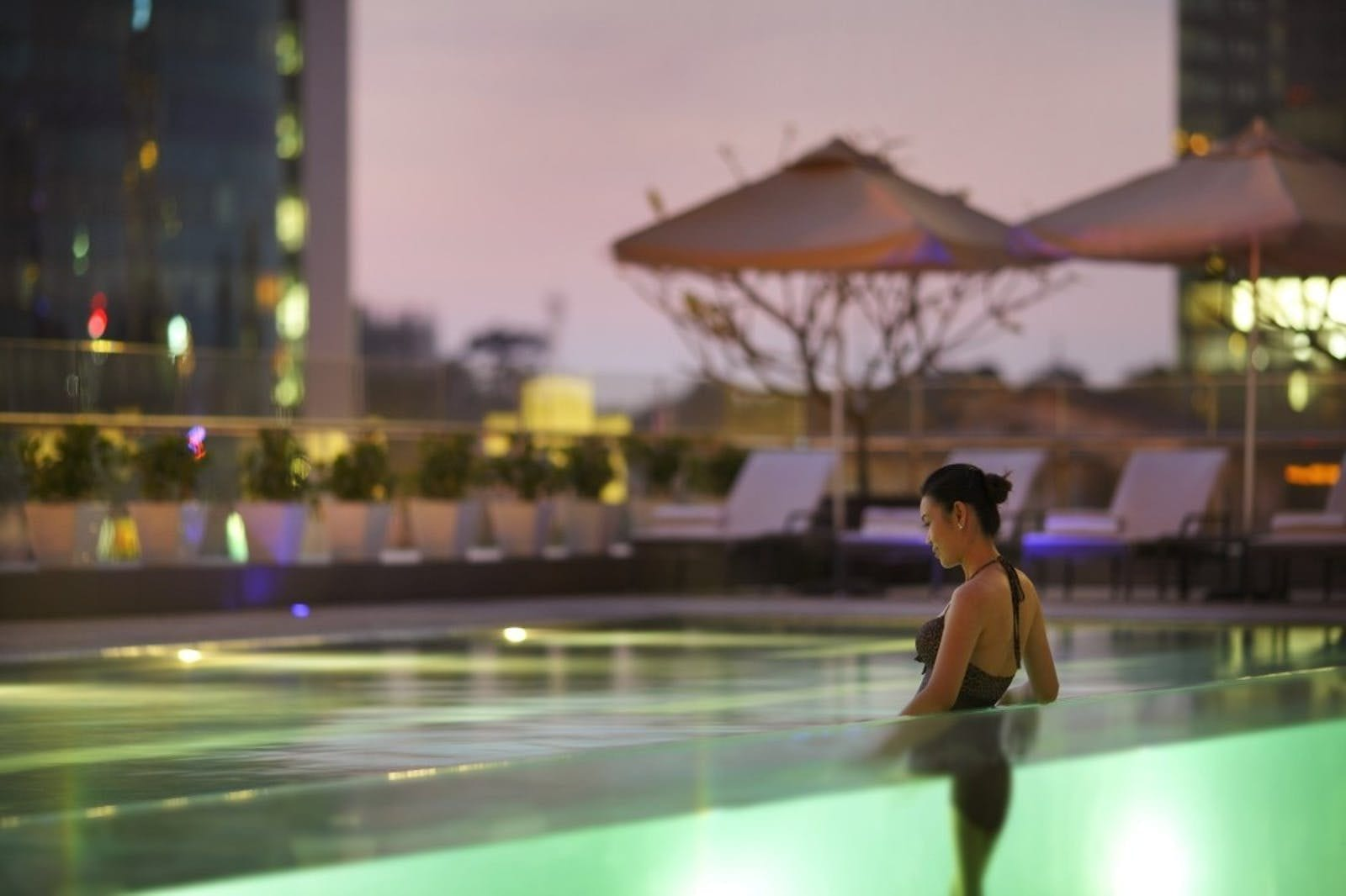 Intercontinental Hotel Saigon Pool