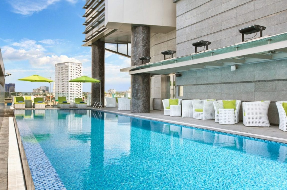 Pool at Pullman Saigon Centre