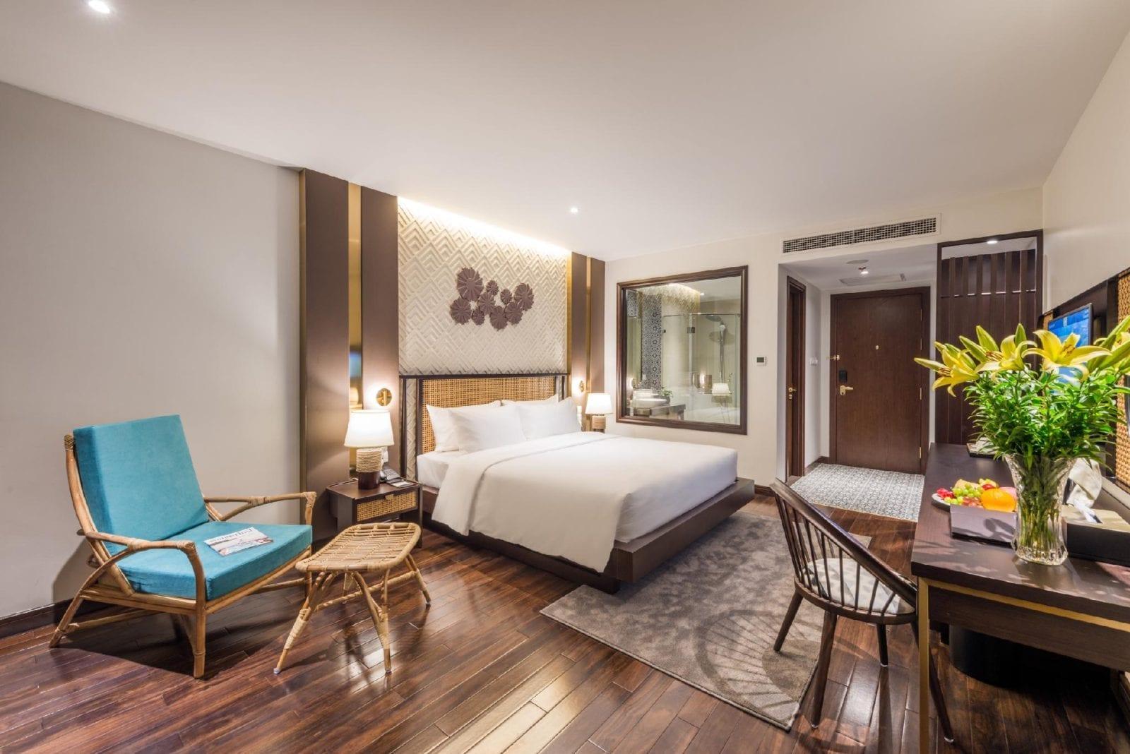 Room at KK Sapa Hotel