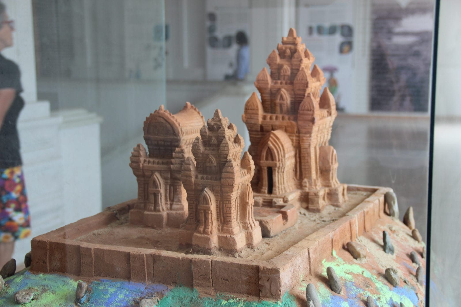 Model of Ancient Temple