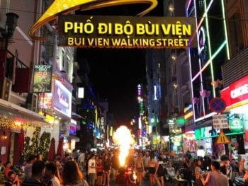 Nightlife at Bui Vien