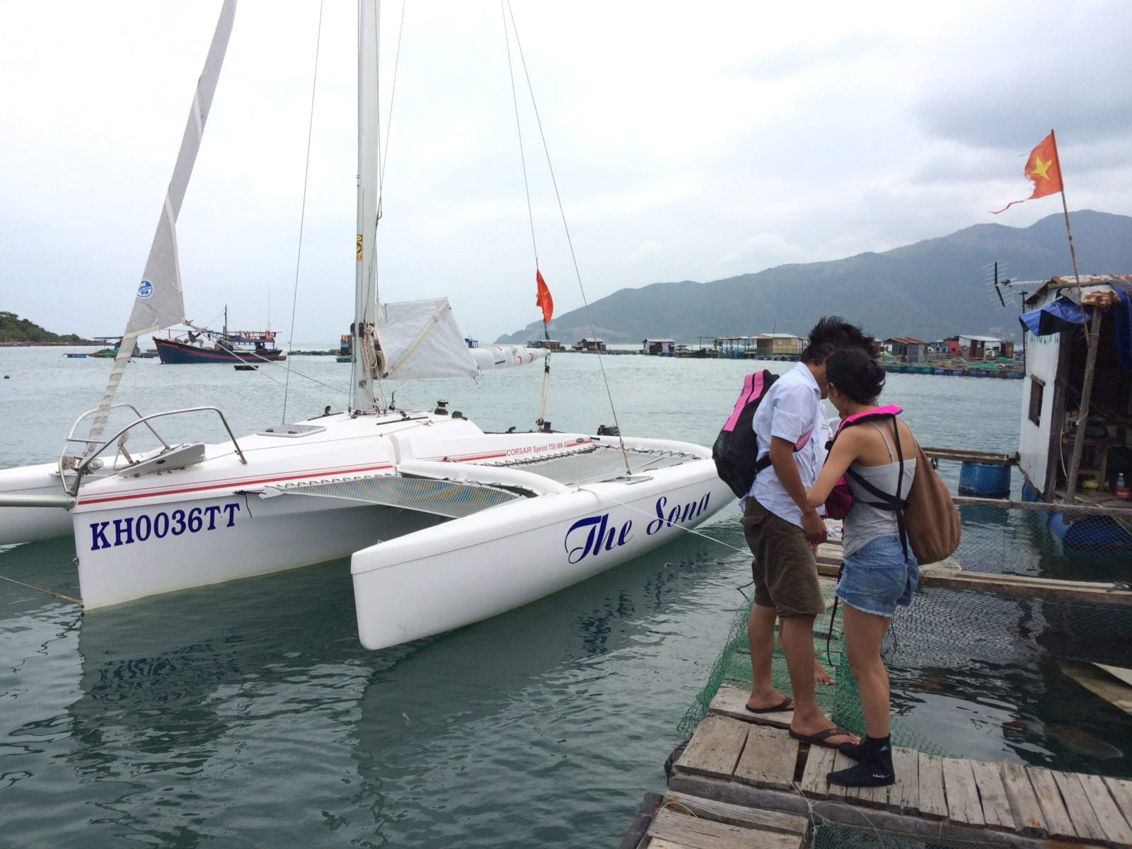 Sailing in Nha Trang