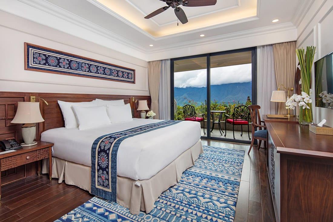 Room at Silk Path Grand Resort & Spa Sapa