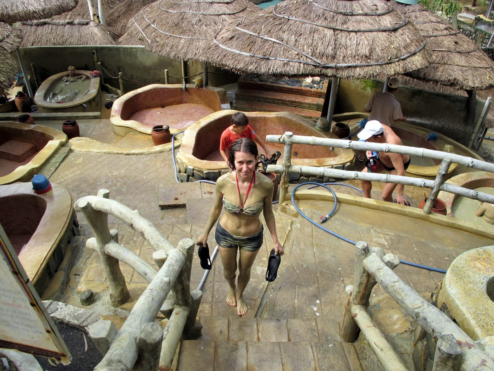 Take a Mud Bath at Thap Ba Hot Springs