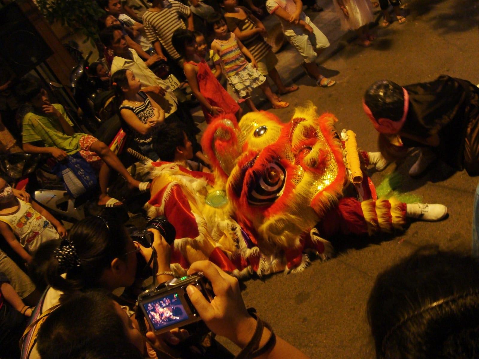Tet Trung Thu Festival in September, Hanoi