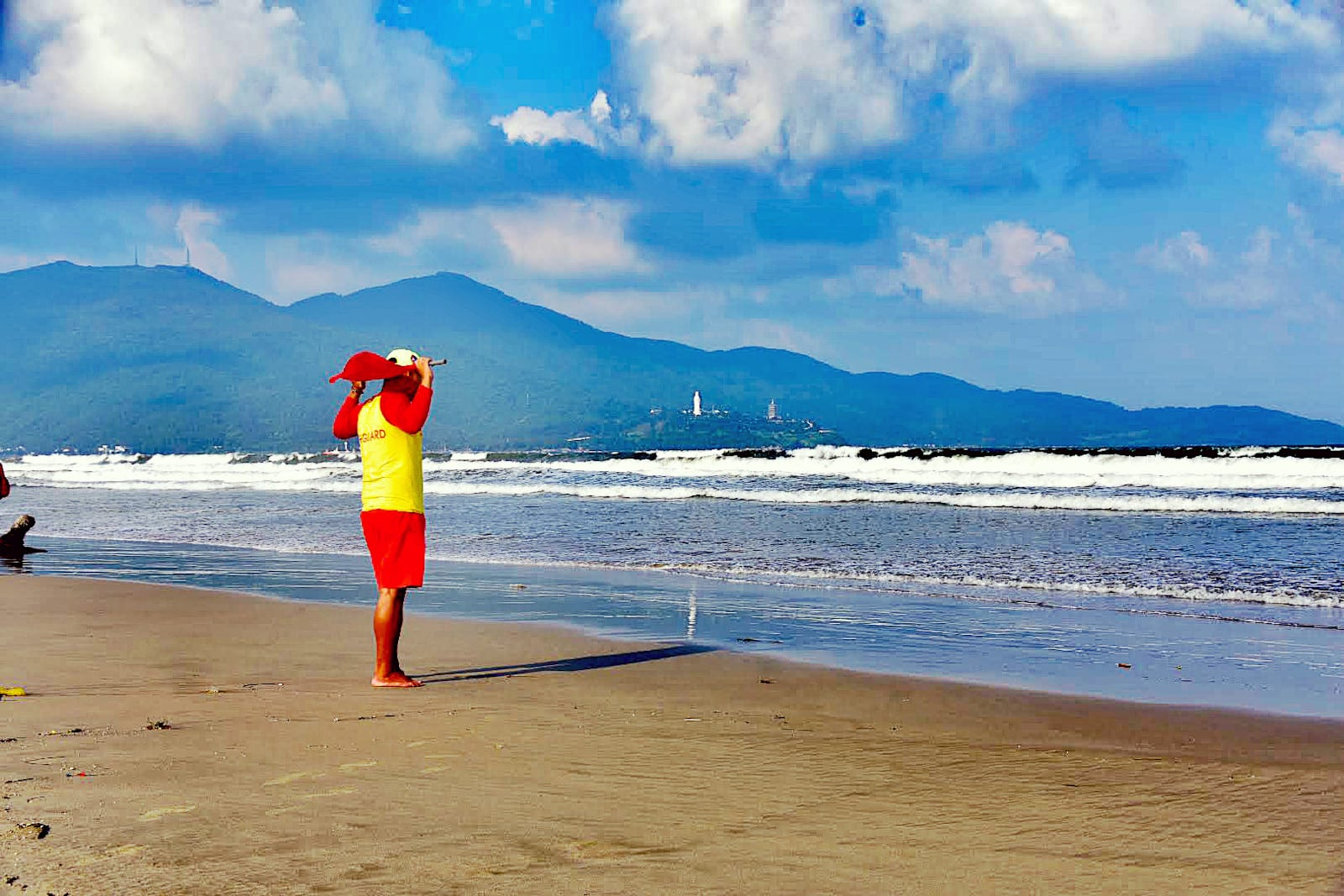 Da Nang Beach Life Guard Vietnam
