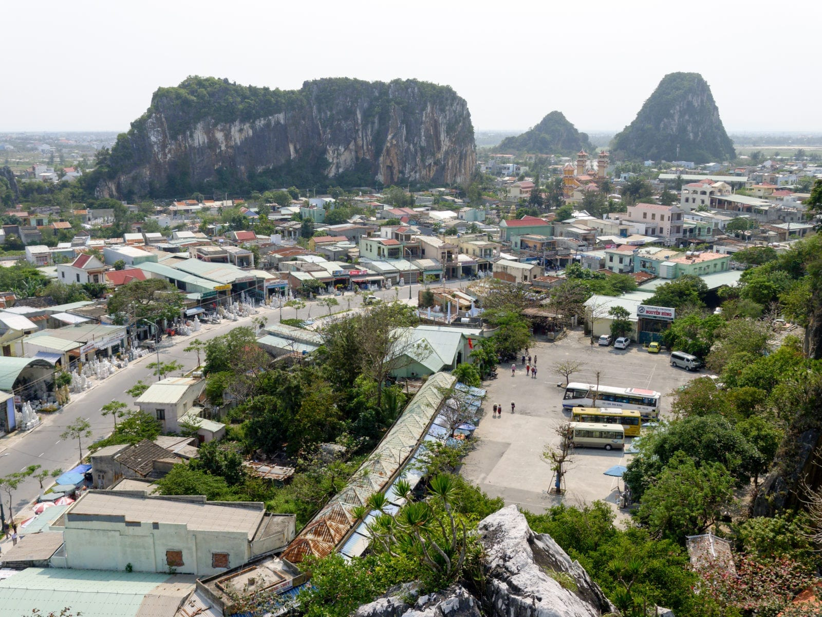 Marble Mountains Da Nang Vietnam Tourist Attraction