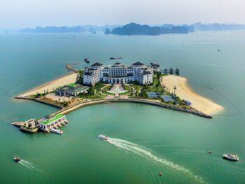 Vinpearl Resort Ha Long Bay Vietnam Aerial View