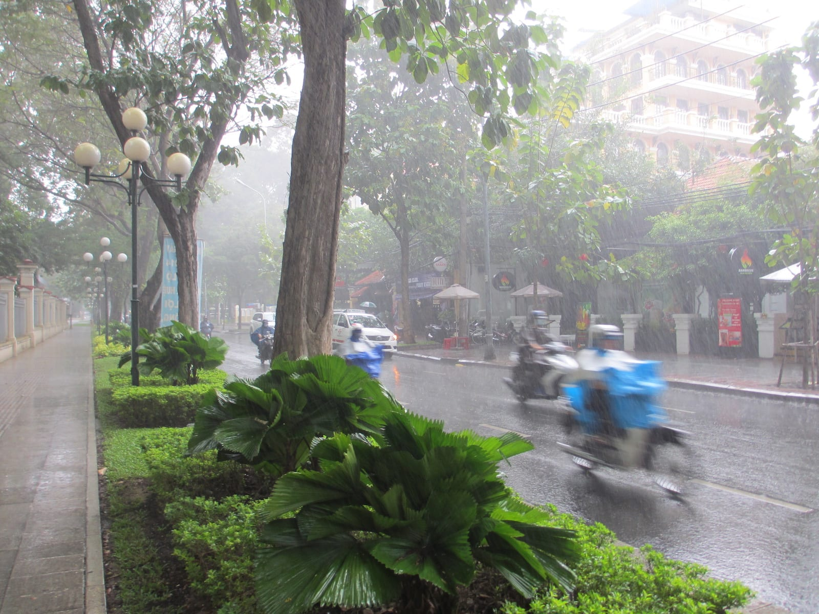 Ho Chi Minh City in October
