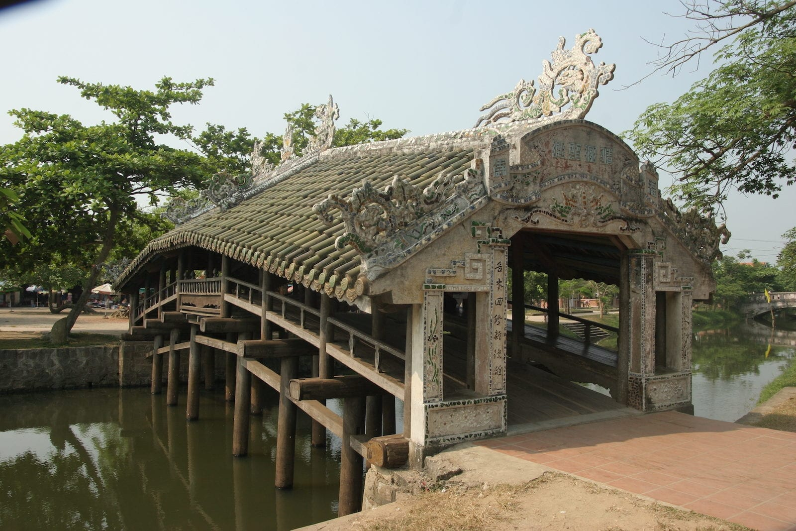 Thanh Toan Bridge in Hue