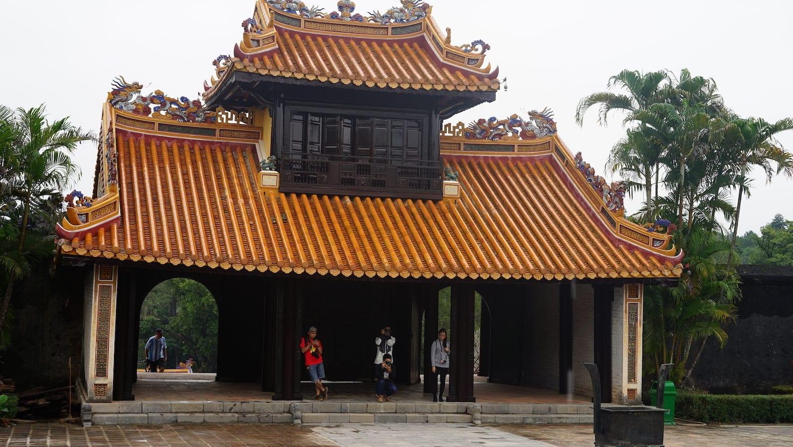 Tomb of Tu Duc in Hue