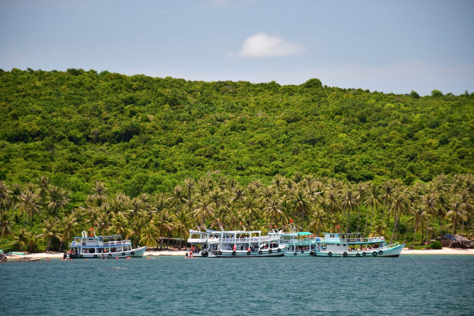 Snorkeling at Hon Thom in Phu Quoc