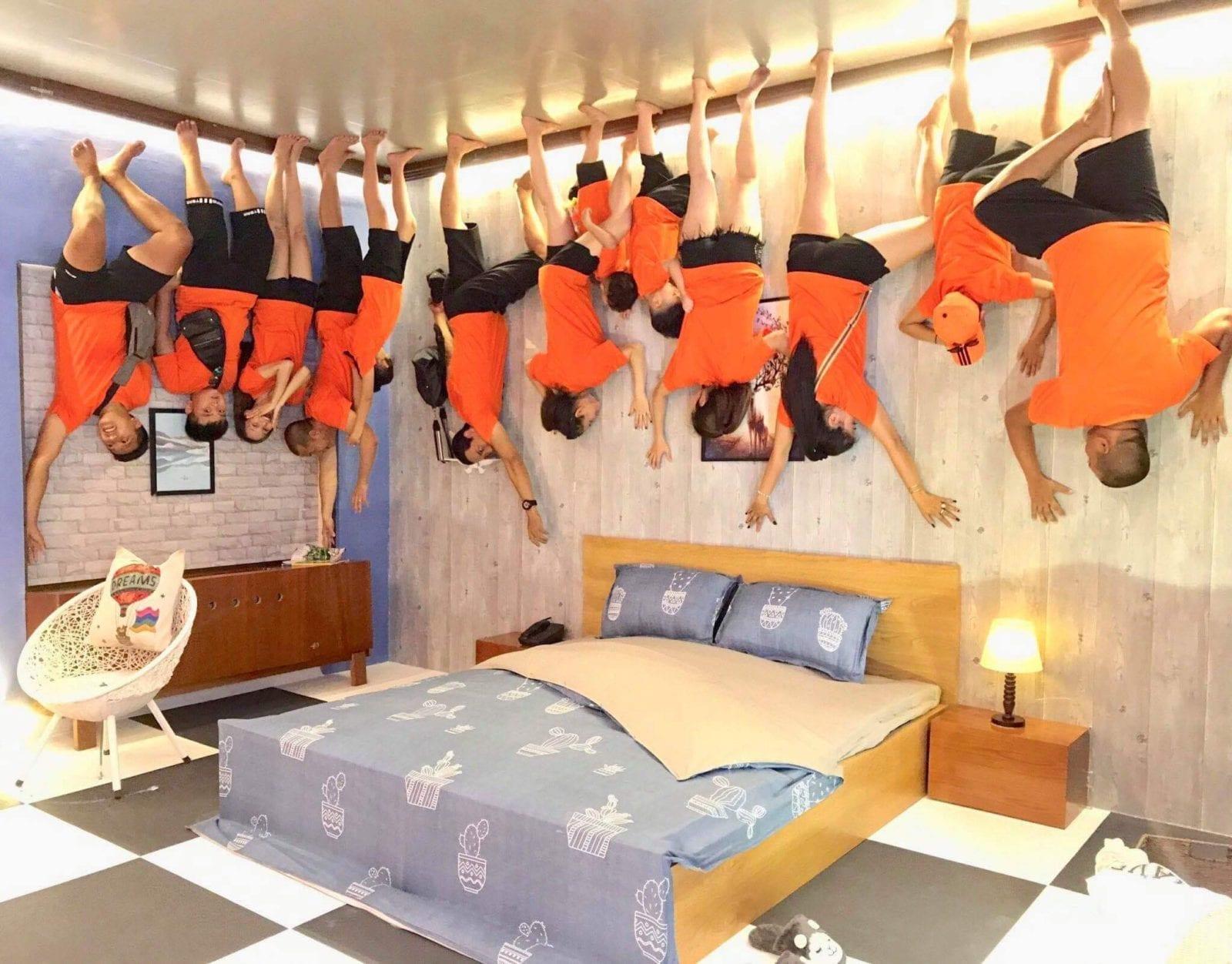 Upside Down House Bedroom Vung Tau