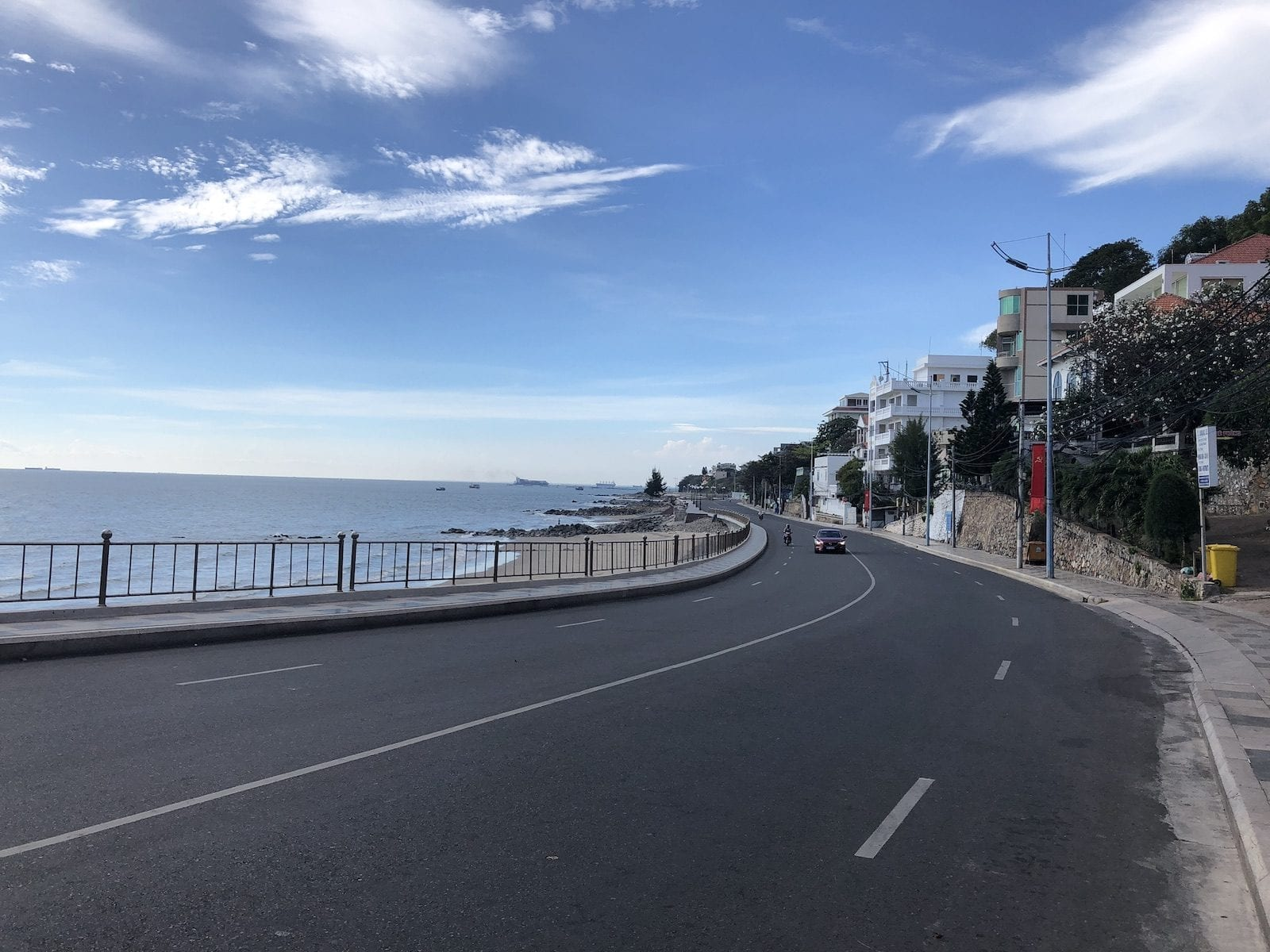 Vung Tau Vietnam Highway Through Town