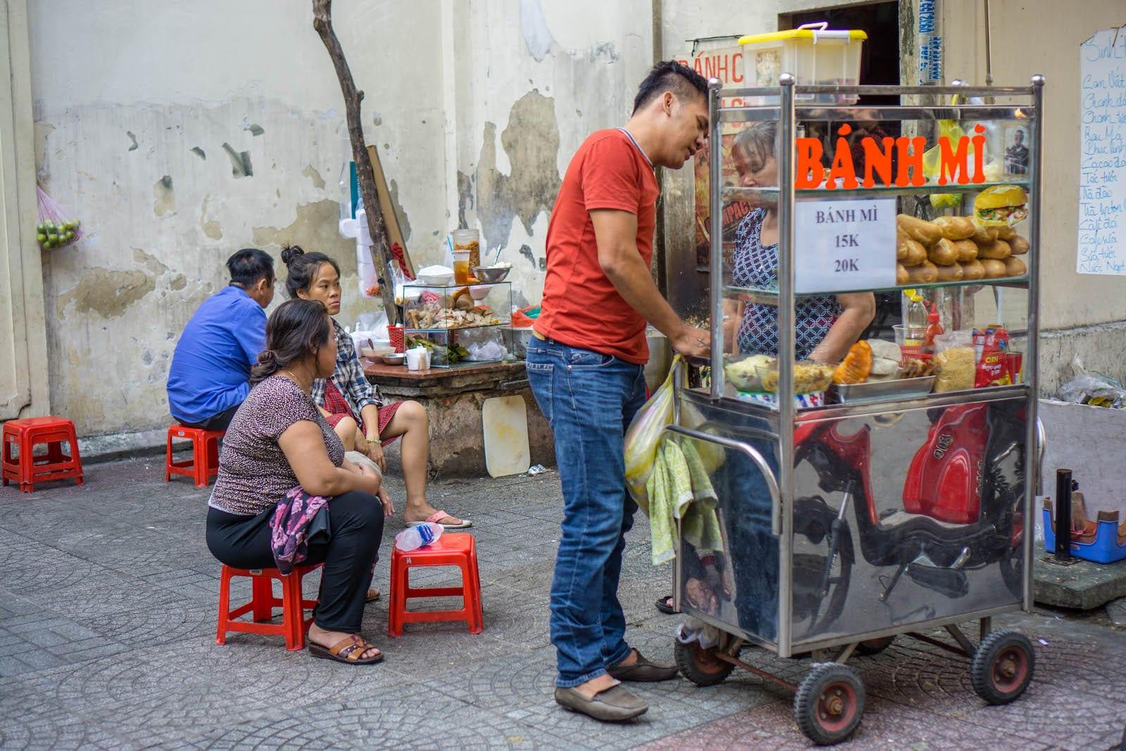 Banh Mi, Ho Chi Minh City
