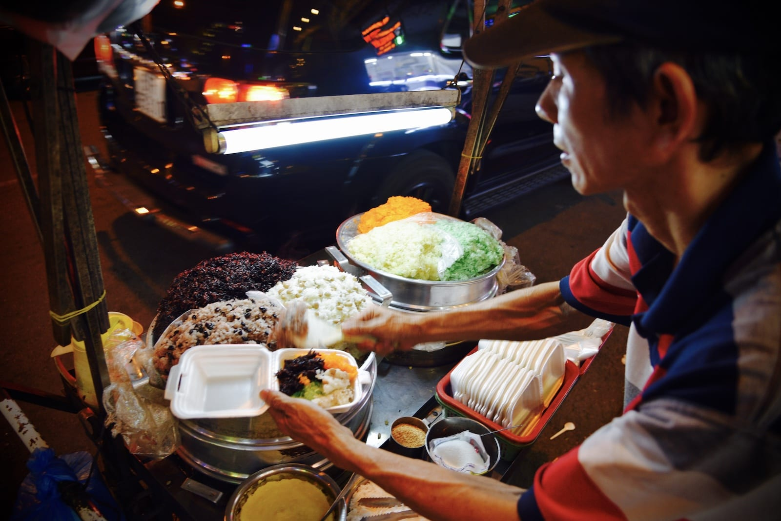 Steamed sticky rice, HCMC