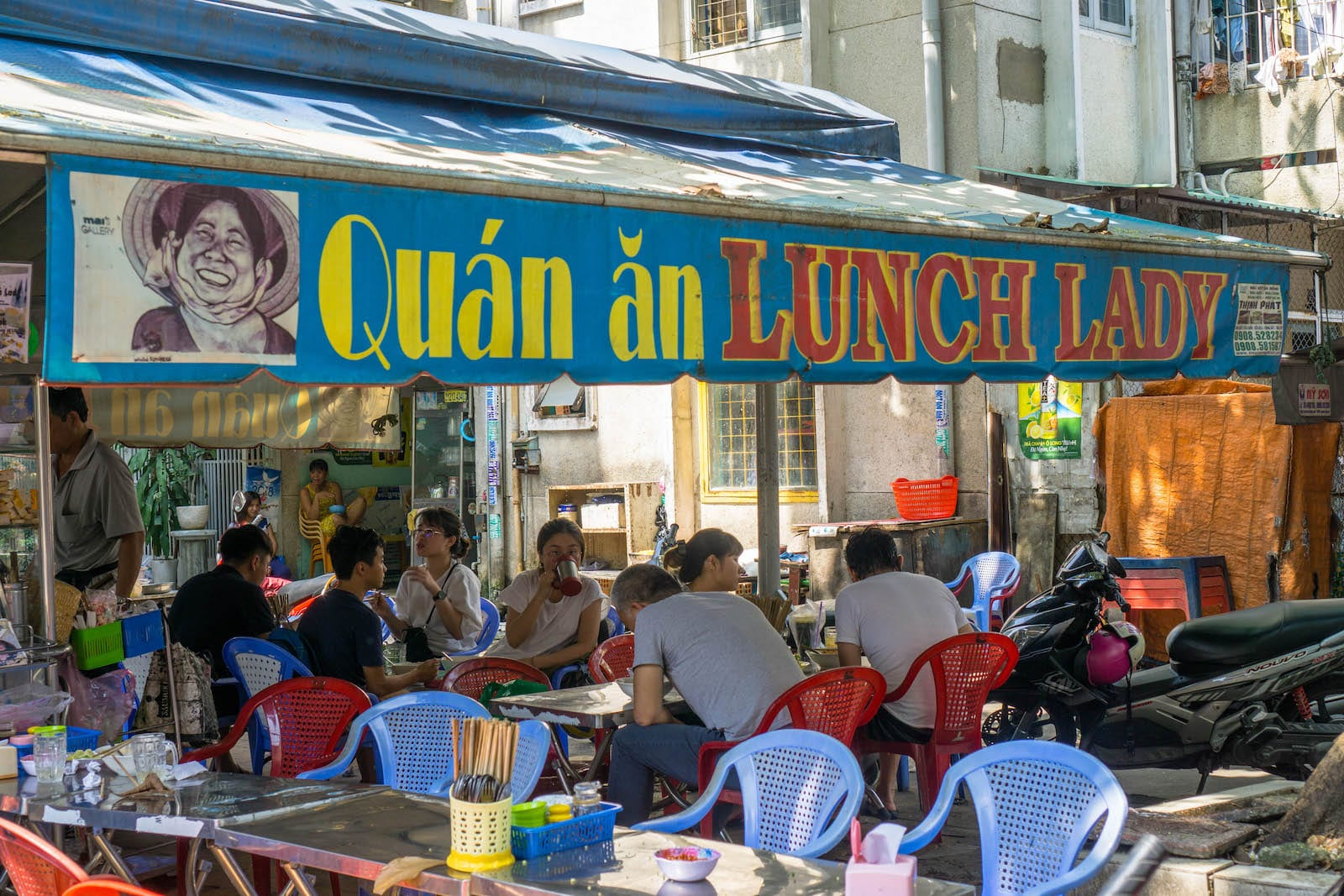 The Lunch Lady, Ho Chi Minh