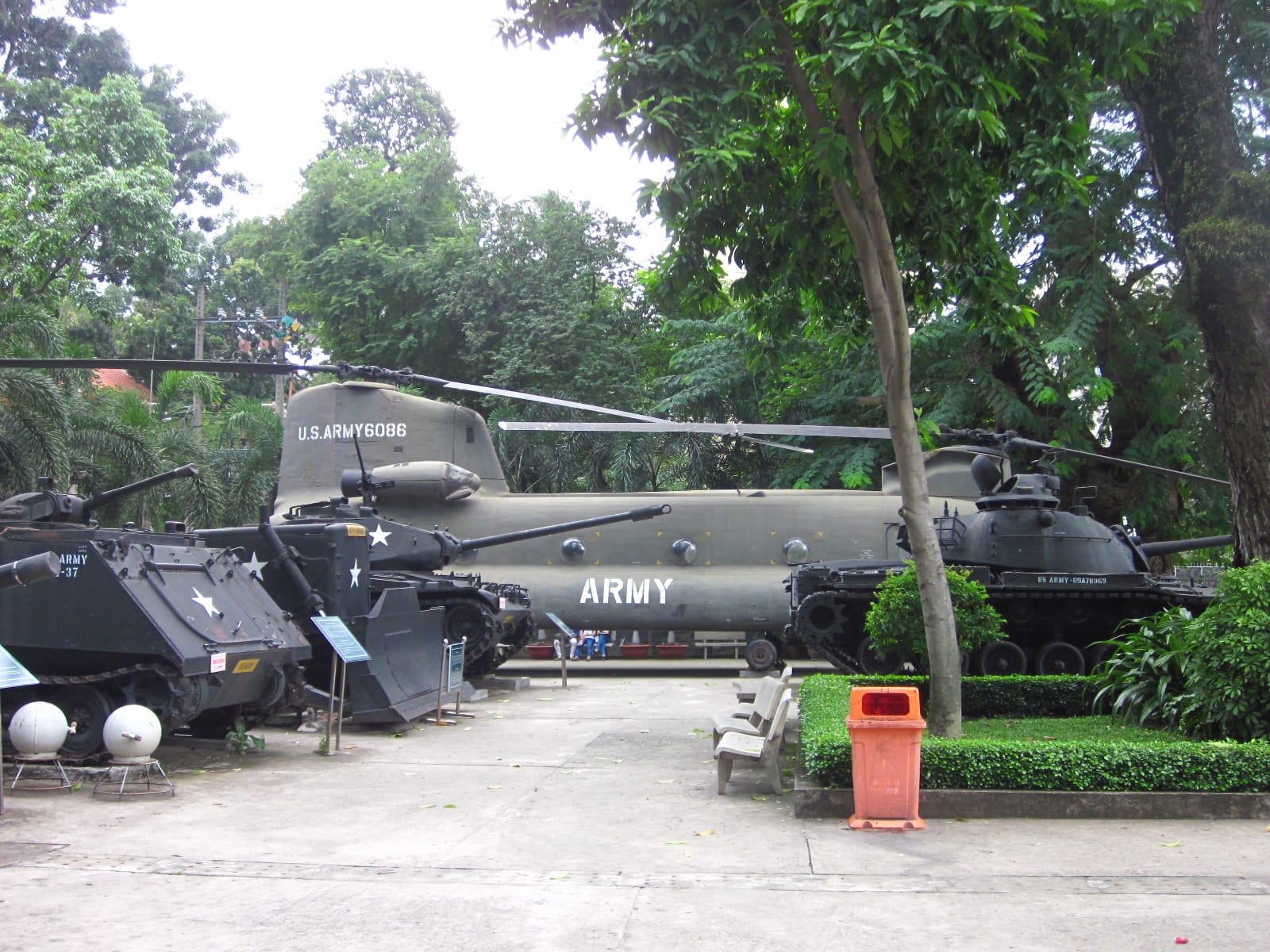Visit War Remnants Museum in Ho Chi Minh City, November